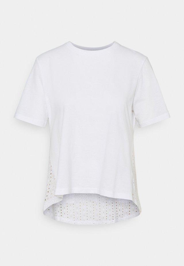 ONLMETTE LIFE  - Basic T-shirt - bright white