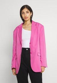 Monki - Short coat - pink - 0
