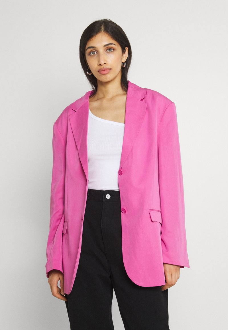 Monki - Short coat - pink
