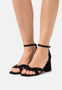 Even&Odd Wide Fit - Sandales - black - 0