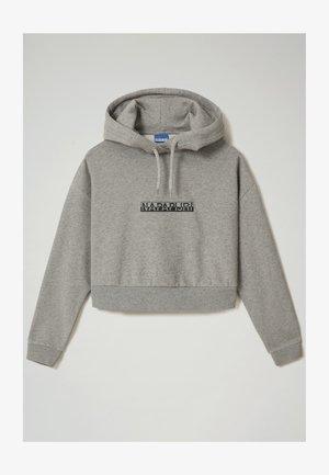 Collegepaita - medium grey melange
