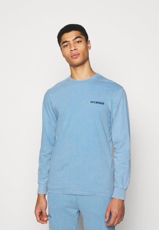 CASUAL LONG SLEEVE TEE - T-shirt à manches longues - faded blue