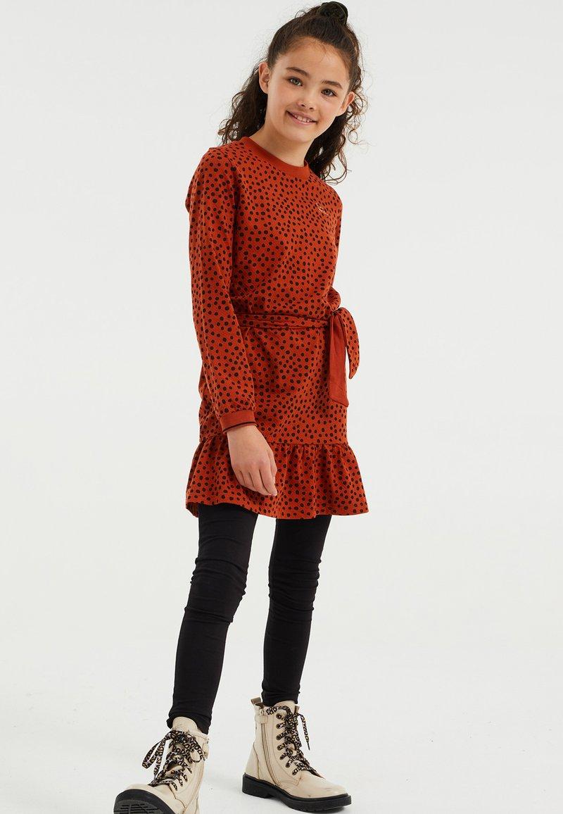 WE Fashion - Jurk - orange
