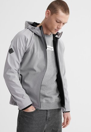 Korte jassen - light grey marl