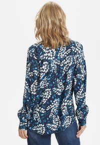 Kaffe - Button-down blouse - dark blue - 2