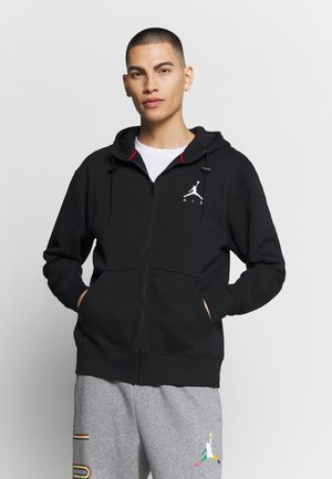 JUMPMAN AIR - Sudadera con cremallera - black/white