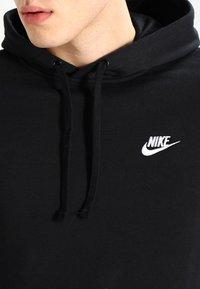 Nike Sportswear - CLUB HOODIE - Hoodie - black - 3