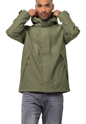 BALDOCK - Waterproof jacket - light moss