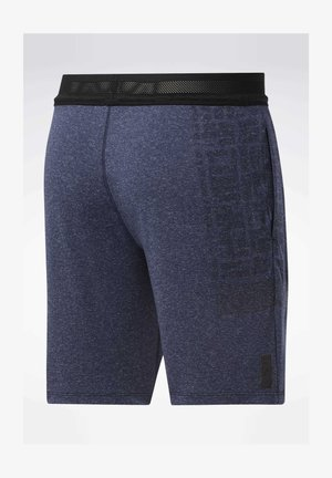UNITED BY FITNESS 8-INCH MYOKNIT SEAMLESS SHORTS - Träningsshorts - blue