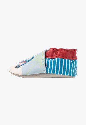 ROAD TRIP - Chaussons pour bébé - bleu/beige/rouge