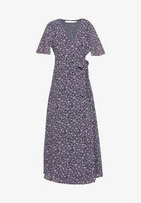 Vila - VIOELAMEREDITH ANCLE DRESS - Kjole - dark blue - 4