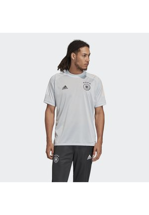 DEUTSCHLAND DFB TRAINING SHIRT - Print T-shirt - clear grey