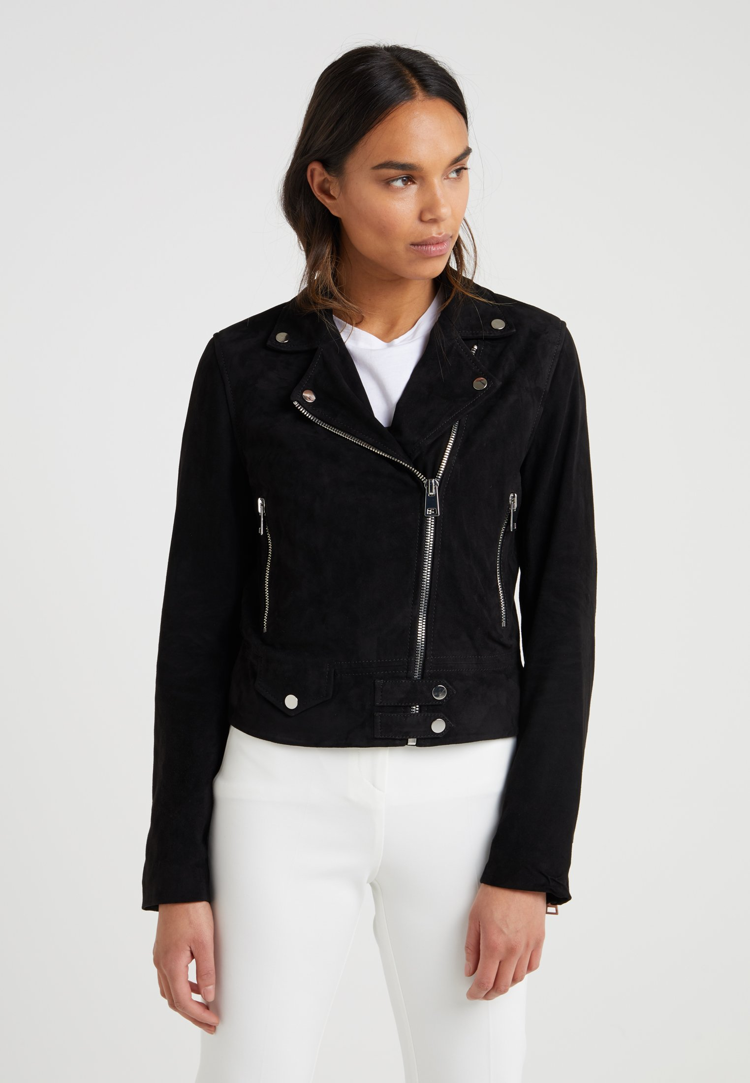 Object Objnandita Leather Jacket Noos Giacca Donna