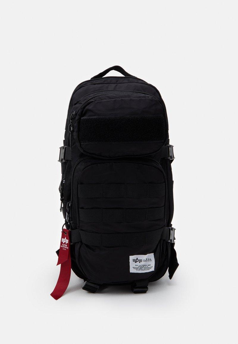 Alpha Industries - TACTICAL BACKPACK UNISEX - Rucksack - black