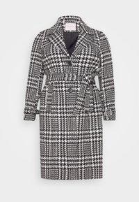 CARFANDANGA LONG COAT - Classic coat - black/white