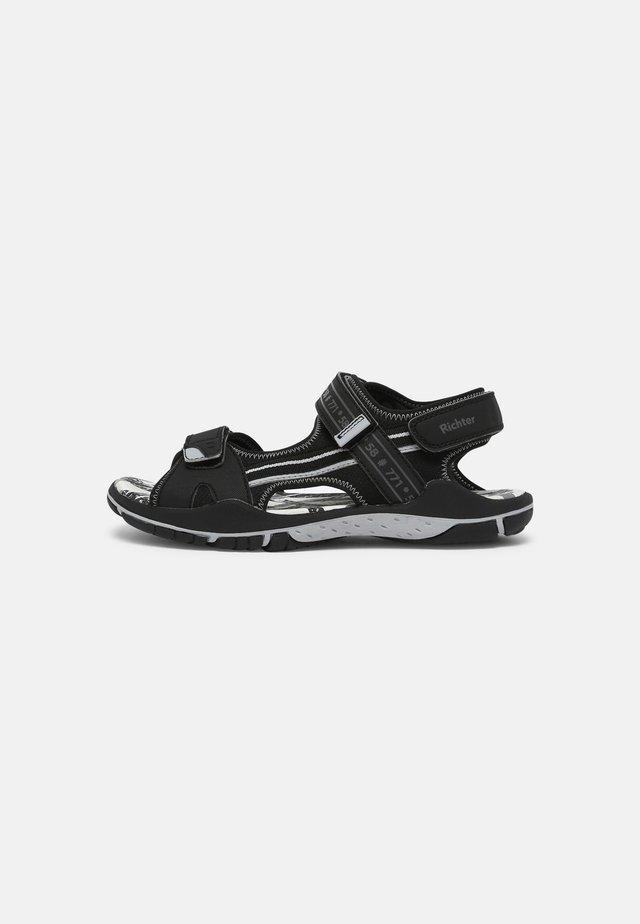 Sandals - black/stone