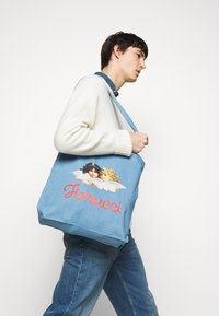 Fiorucci - ANGELS TOTE BAG UNISEX - Shopping bag - blue - 1