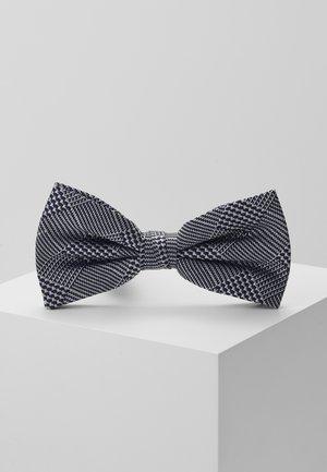 CHECK BOWTIE - Motýlek - blue