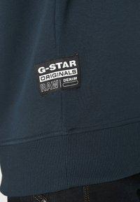 G-Star - REINFORCED CREW - Sweater - legion blue - 5