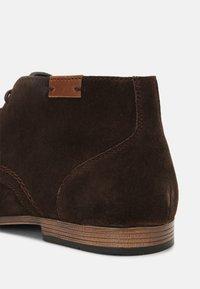 Pier One - Elegantní šněrovací boty - dark brown - 4