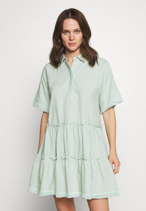 ESTHER DRESS - Paitamekko - green mist