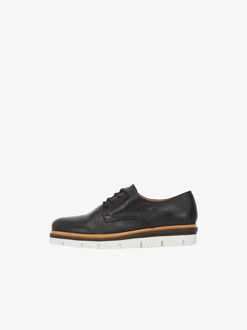 Bianco - DERBY - Casual lace-ups - black
