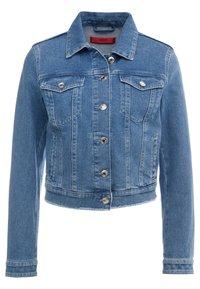 HUGO - GESSINA - Denim jacket - turquoise/aqua - 0