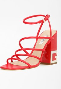 Guess - TACEY - Sandals - rot - 1