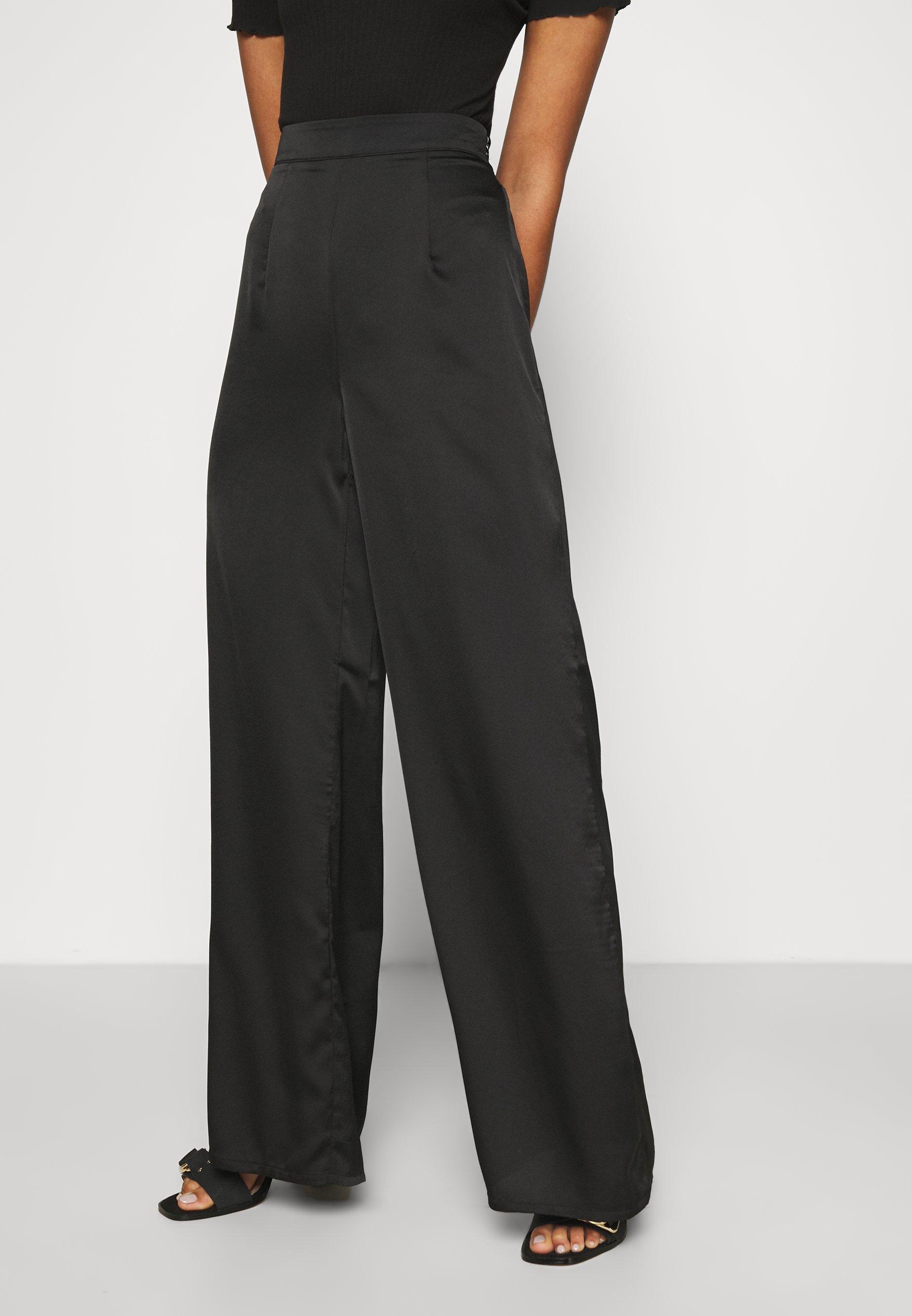 Mujer WIDE LEG TROUSER - Pantalones