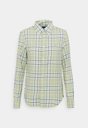 GEORGIA LONG SLEEVE - Button-down blouse - faded green