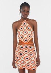 Bershka - Jumper dress - orange - 0