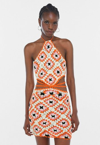Jumper dress - orange