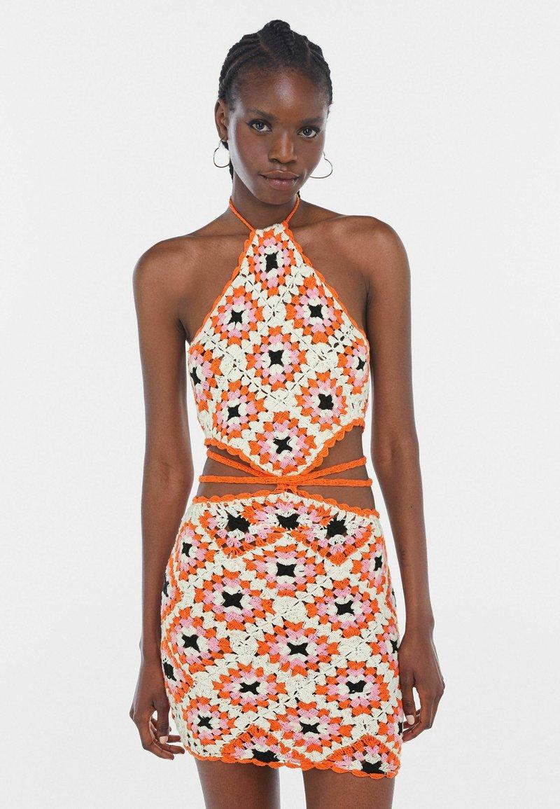 Bershka - Jumper dress - orange