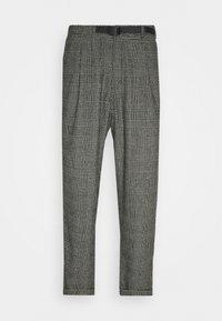 Gramicci - BLEND TUCK PANTS LOOSE - Chino - dark grey - 0