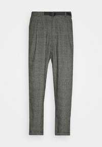 BLEND TUCK PANTS LOOSE - Chino kalhoty - dark grey