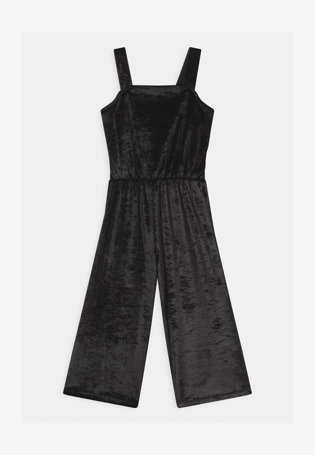 GLITTER - Tuta jumpsuit - black bean