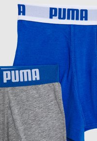 Puma - BOYS BASIC BOXER 6 PACK - Onderbroeken - blue/grey - 3