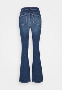 Ivy Copenhagen - TARA MACAU - Flared Jeans - denim blue - 1