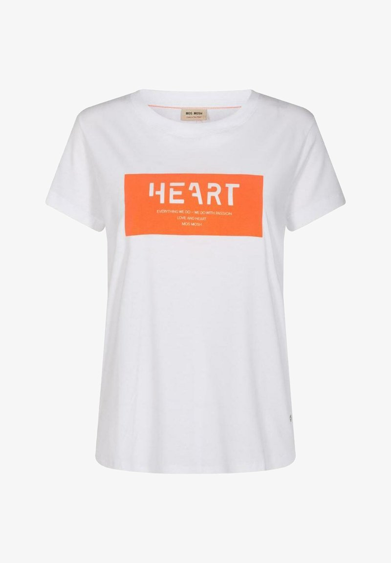 Mos Mosh - CHÉRIE - Print T-shirt - weiß