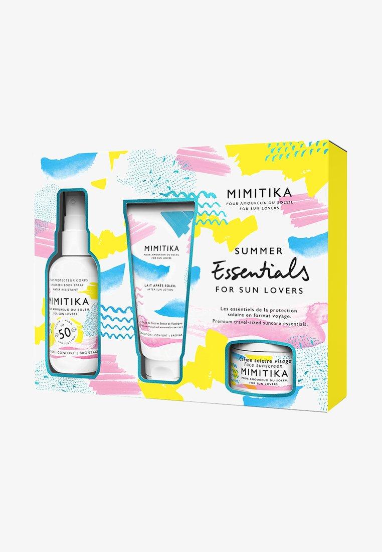 Mimitika - KIT SUMMER ESSENTIALS SPF50 - Bath and body set - -
