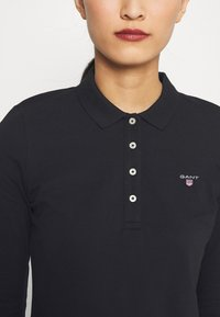 GANT - ORIGINAL - Polo shirt - black - 5