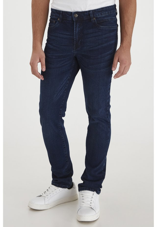 SDRYDER  - Straight leg jeans - dark blue denim