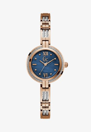 Watch - silver & rose gold