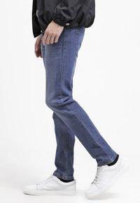 Benetton - Jeans slim fit - blue denim - 3