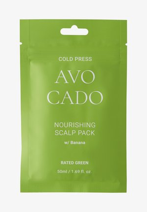COLD PRESS AVOCADO NOURISHING SCALP PACK W/BANANA 2 PACK - Hair set - -