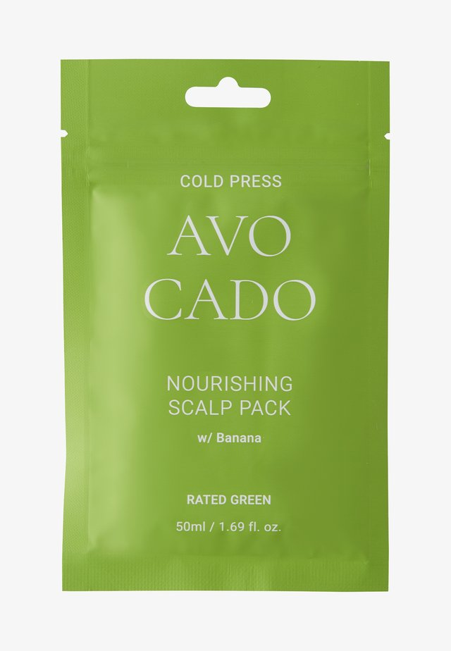 COLD PRESS AVOCADO NOURISHING SCALP PACK W/BANANA 2 PACK - Hårsæt - -