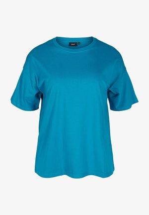 T-shirt basic - fjord blue