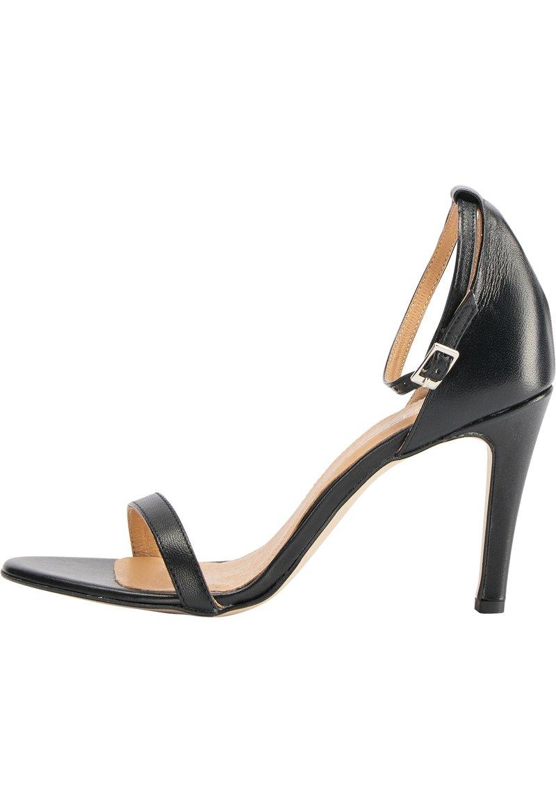 faina - HIGH-HEEL-SANDALETTE - High heeled sandals - schwarz