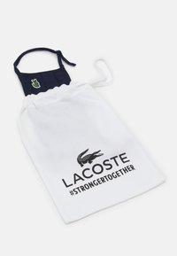 Lacoste - UNISEX - Masque en tissu - navy - 1