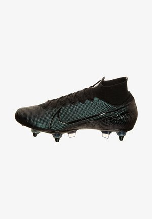 MERCURIAL 7 ELITE DF AC SG-PRO - Screw-in stud football boots - black